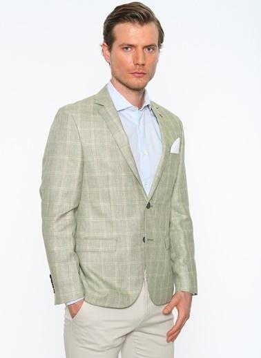 Comienzo Klasik Ceket Yeşil